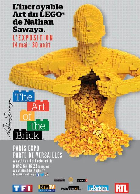 The art of the brick paris expo du 14 mai au 30 for Salon porte de versailles 30 mai 2015