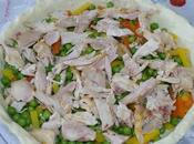 Tarte legumes poulet