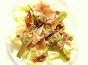 salade d'artichaut violet jambon