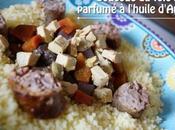 Coucous foie gras parfumé l'huile d'Argan