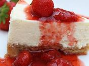 Cheesecake New-Yorkais coulis fraises