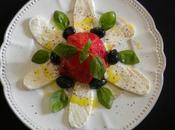 Tomate cœur bœuf confite pour salade caprese revisitée