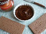 tartinade allégée chicorée cacao seulement kcal (diététique, végane, sans gluten, beurre riche fibres)