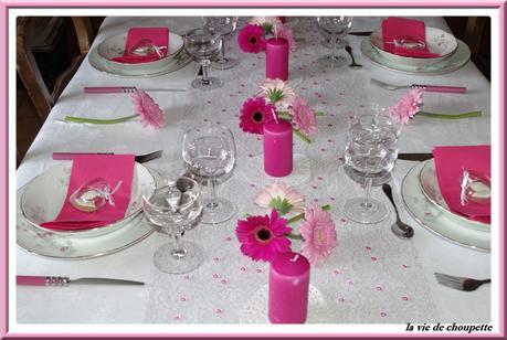 Ma decoration de table fete des meres 2015 voir - Idee deco fete des meres ...