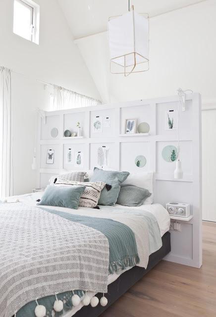 diy une cloison d co pour t te de lit paperblog. Black Bedroom Furniture Sets. Home Design Ideas