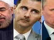 milliers d'Iraniens d'Irakiens Syrie pour protéger Damas
