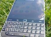 Test Flash coque BlackBerry Classic Soft Shell Noire Translucide