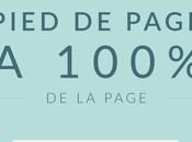 Modifier largeur pied page 100%