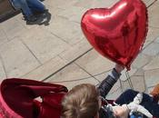 Bonne fête maman: roses Bordeaux