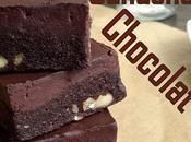 [Battle food ]Brownie ganache chocolat sans gluten, lait, paleo, cru}