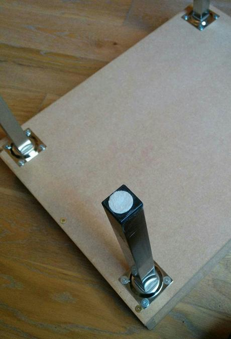 Comment fabriquer une table basse en fer - Fabriquer une table basse en bois ...