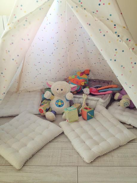 diy tipi pour enfant paperblog. Black Bedroom Furniture Sets. Home Design Ideas