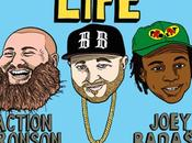 Statik Selektah Action Bronson Joey Bada$$ Beautiful Life (Audio)