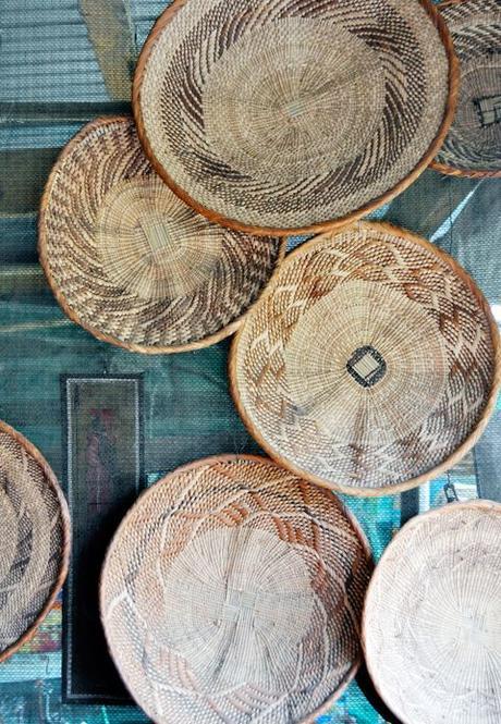 L osier et le rotin des mati res naturelles for Decoration murale osier