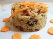 Quinoa petits légumes comme risotto