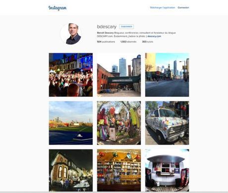La nouvelle version Web d'Instagram fait plus de place aux photos