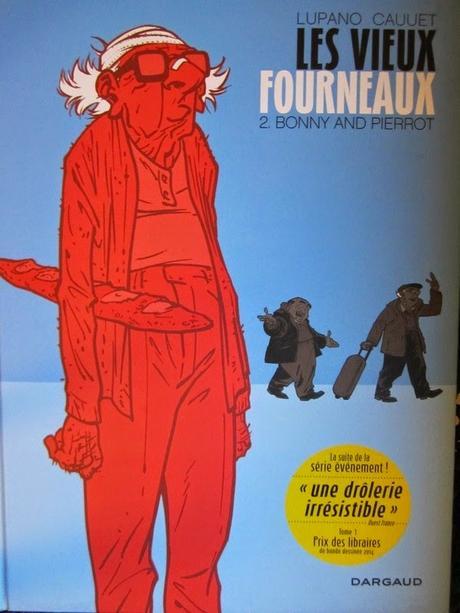 Les vieux fourneaux tome 2 Bonny and Pierrot de Paul CAUUET et Wilfrid LUPANO