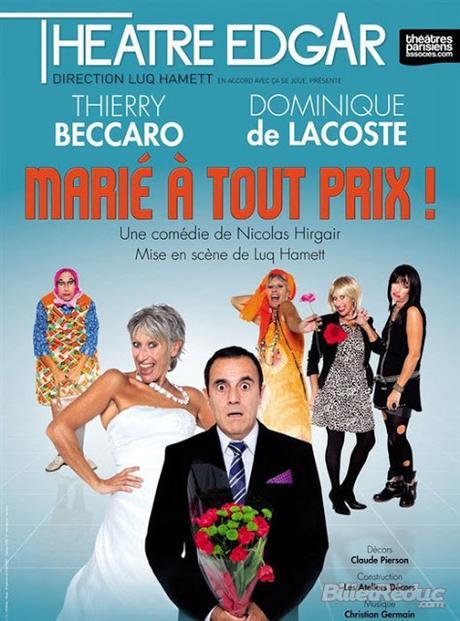 Marié à tout prix @ Théâtre d'Edgar