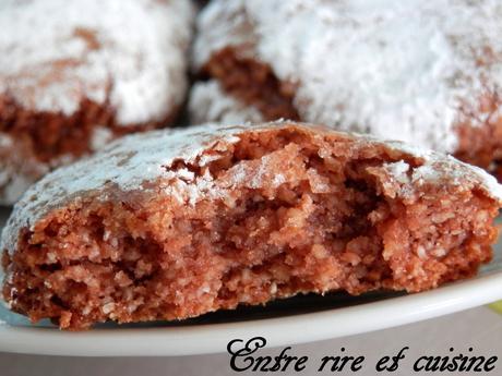 Biscuits craquelés à la pâte à tartiner
