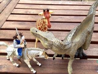A la découverte des dinosaures avec Papo (#cadeauinside #happy5)