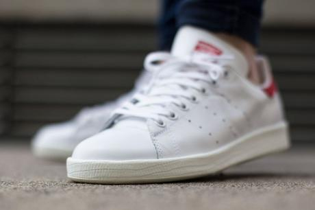Adidas Stan Smith Luxe Collegiate Red