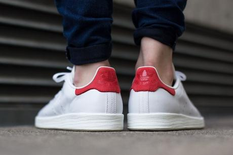 Adidas Stan Smith Luxe Collegiate Red 3