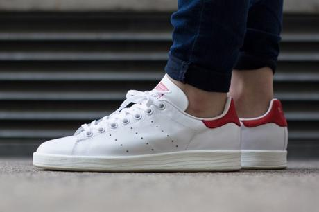 Adidas Stan Smith Luxe Collegiate Red 2015