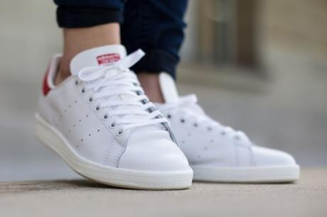 Adidas Stan Smith Luxe Collegiate Red 2