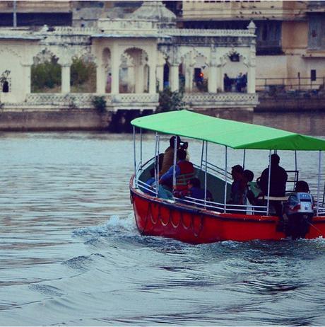 Promenade en bateau sur le lac Pichola