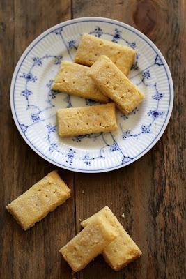 Délicieux shortbread comme je les aime pour accompagner les desserts