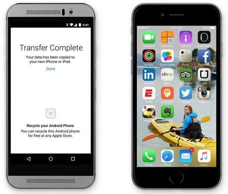 Apple va proposer une application pour migrer facilement un appareil Android vers iOS