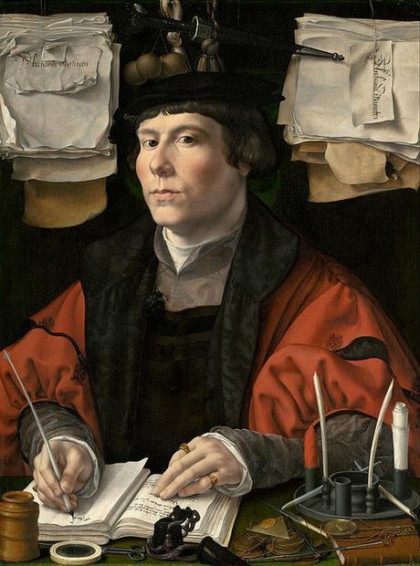 1530 portrait d'un marchand