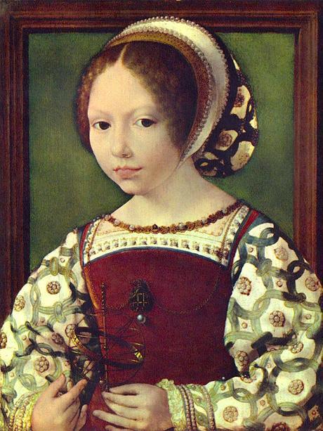 1530 portrait de jeune fille