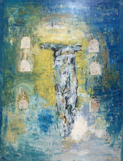 Série Christ 1994 Acrylique sur toile