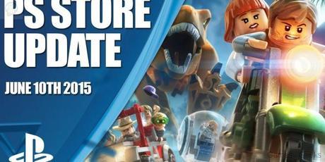 Mise à jour du PlayStation Store du 10 Juin 2015