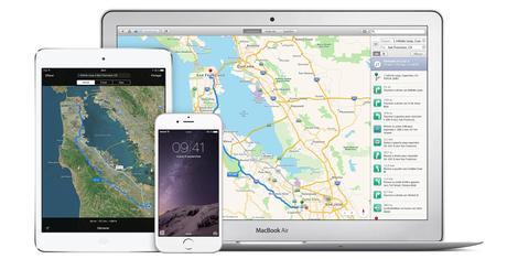 Apple conduit des véhicules autour du monde pour améliorer son App Plans