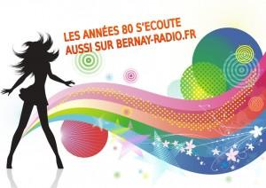 Ah ! Nos chères années 80, Bernay-radio.fr leurs donne une large place…