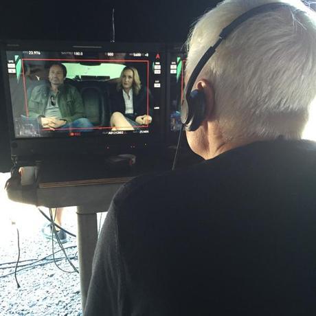 En exclusivité la première image du tournage d' X.Files