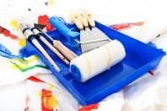 matériels de peinture