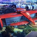Le parc d'attractions Ferrari Land enfin en chantier