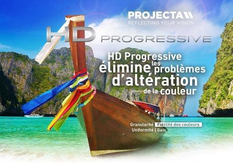 Projecta HD progressive