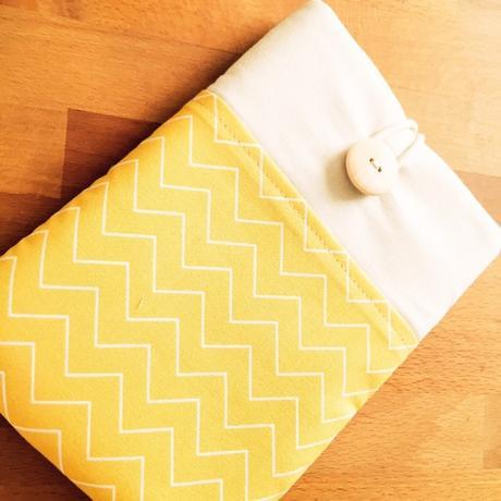 Kindle Paperwhite : ma belle housse / pochette jaune citron