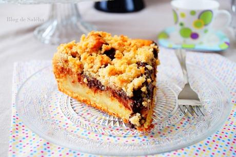 gâteau crumble chocolat crumble