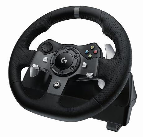 PC, PS4 ou Xbox One, à chacun son volant à retour de force chez Logitech