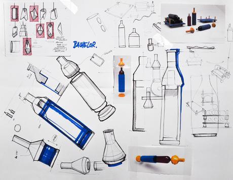 Projet étudiant : Jean-Yvres packaging en jean par Paulin Giret