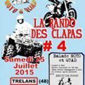 La rando des Clapas 4, moto et quad le 25 juillet 2015 à Trelans (48)