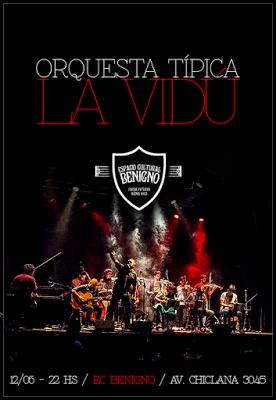 La Vidú, Juan Seren, Los Púa Abajo et Choco ce week-end à Parque Patricios [à l'affiche]