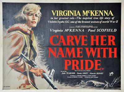 Agent secret S.Z. - Carve Her Name with Pride, Lewis Gilbert.(1958)