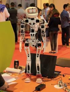 Robot Synergiz TEDx Rennes 2015