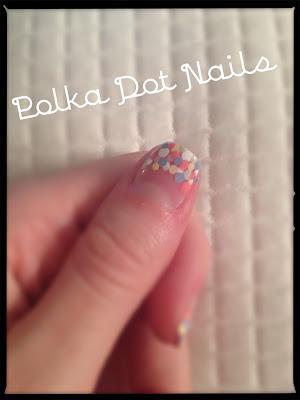 Polka Dot Nails Tutorial - Festival Look
